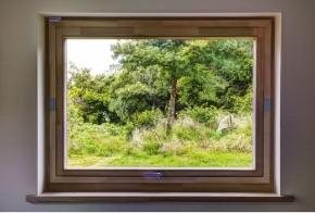 aluclad pivot window